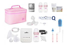 bundle spectra q breast pump electric