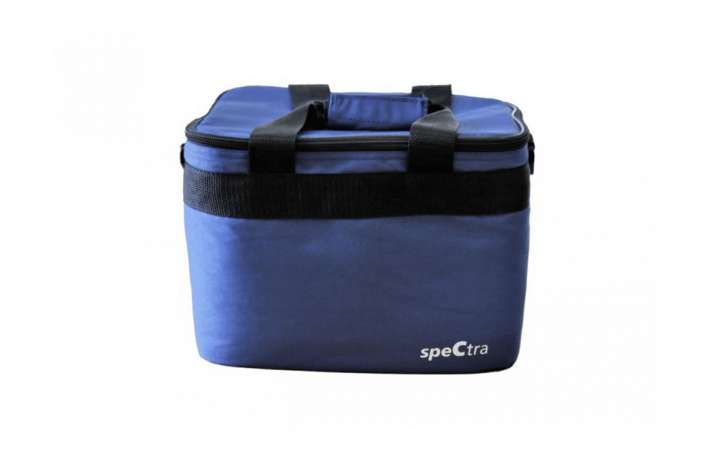 spectra pump tote bag insulated breast milk storage