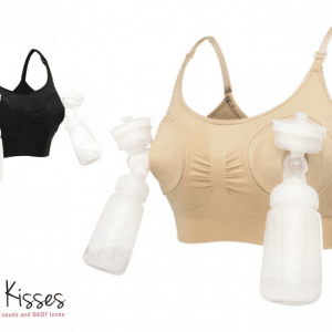 Pumping nursing bra hugs'n kisses