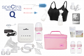 Spectra Q electric breast pump